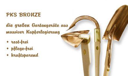 PKS-Bronze – die großen Gartengeräte
