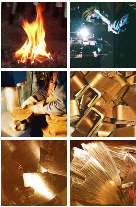 Herstellung der Kupfer-Handgeräte 2