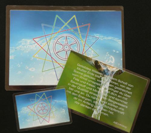 AQUA GENIALIS Wasser-Karten-Set