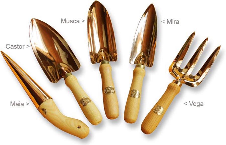 über die Kupfer-Handgeräte