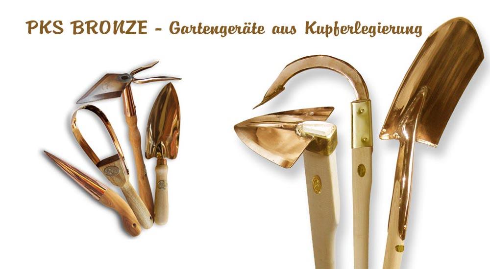 Kupfer-Anton PKS-Bronze - Gartengeräte aus Kupferlegierung