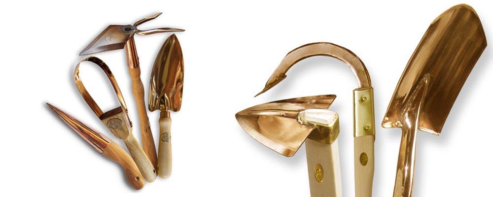 Kupfer-Gartengeräte von PKS-Bronze