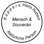 K ü p p e r s, Hans Hubert - Mensch & natürliche Person
